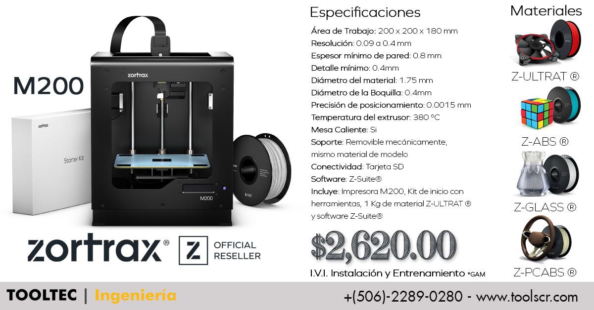 Zortrax FaceBook Ad M200
